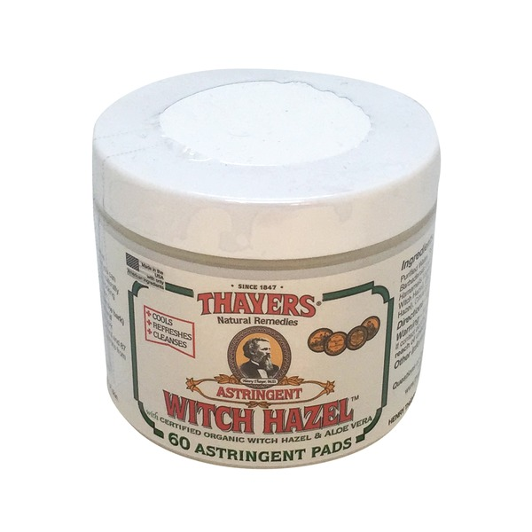 Thayers Witch Hazel Astringent Pads