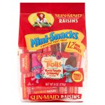 Sun-Maid California Raisins Mini-Snacks, 6 Oz, 12 CT