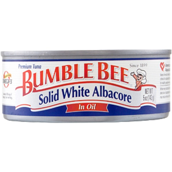 Bumble Bee Tuna Premium Solid White Albacore In Oil