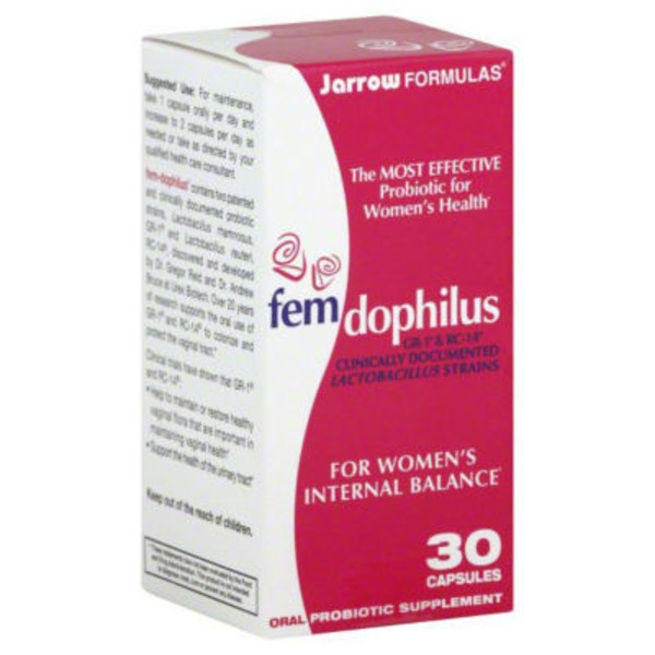 Jarrow Formulas Women's Fem Dophilus Urinary Tract Health Probiotic Supplement