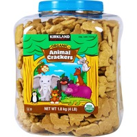 Kirkland Signature Organic Animal Crackers