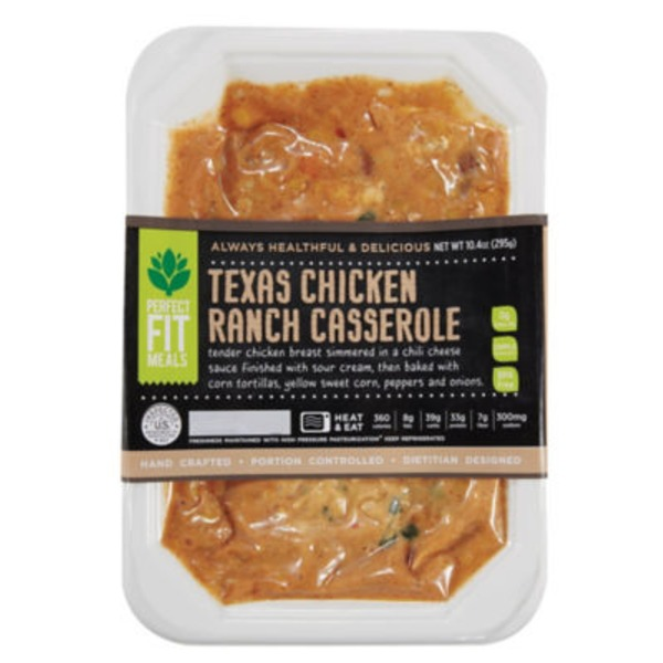 Perfect Fit Meals Texas Chicken Ranch Casserole
