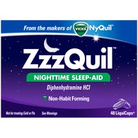 Zzzquil Nighttime Sleep Aid LiquiCaps 48 ct Misc Personal Health Care