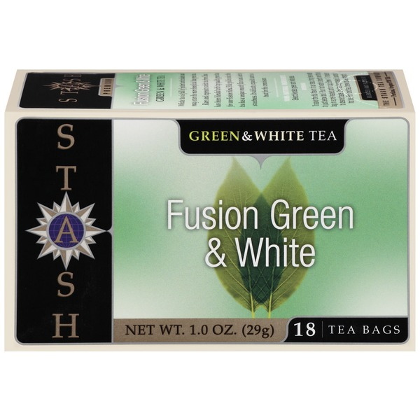 Stash Tea Fusion Green & White Tea Bags