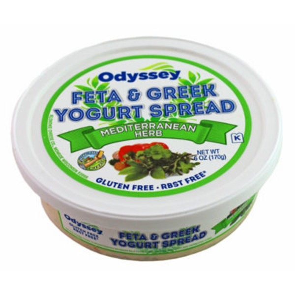 Odyssey Mediterranean Herb Feta & Greek Yogurt Spread