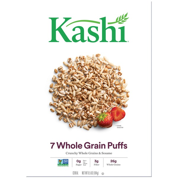 Kashi 7 Whole Grain Puffs Cereal