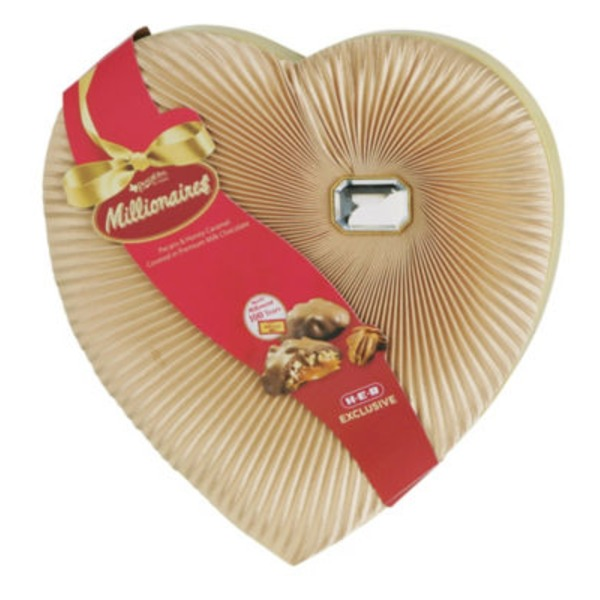 Pangburn's Millionaires Diamond Brooch Candy Heart Valentine