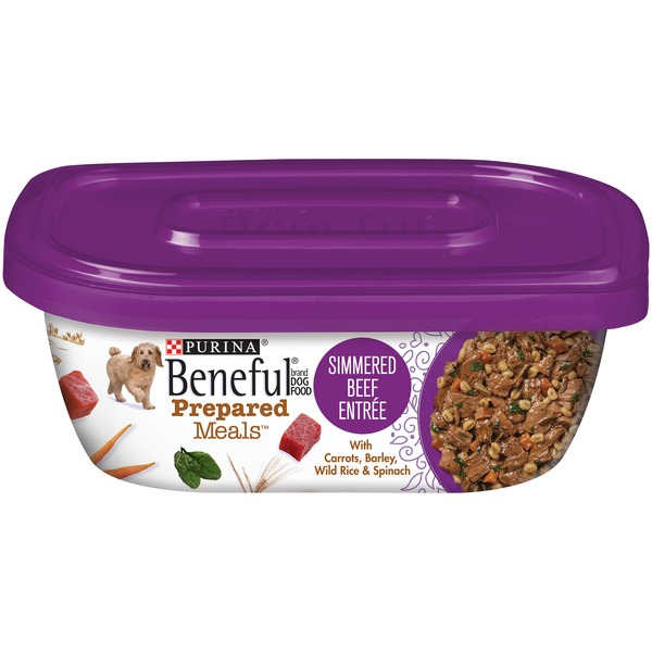 Beneful Prepared Meals Simmered Beef Entree Dog Food
