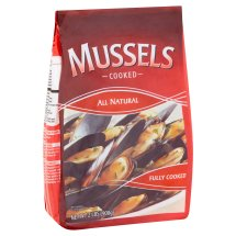 Cooked Mussels, 2 lbs