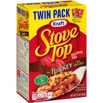 Kraft Stove Top Turkey Stuffing Mix Twin Pack
