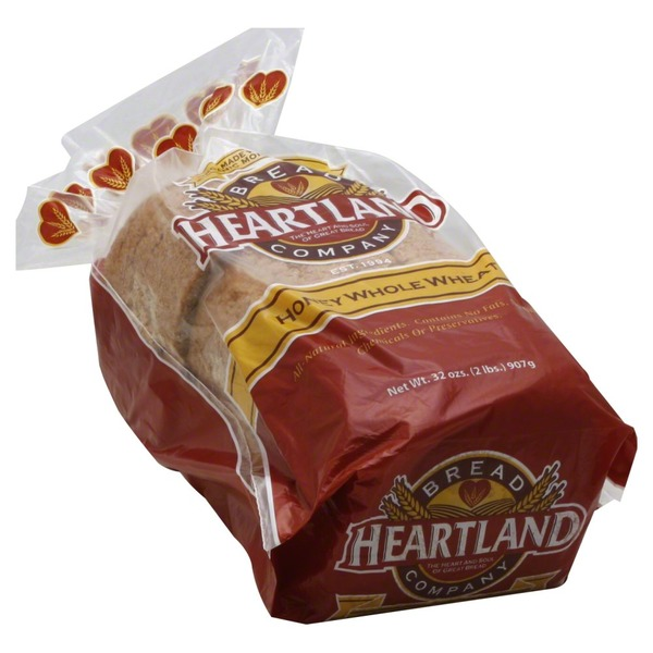 Heartland Mill Bread, Honey Whole Wheat