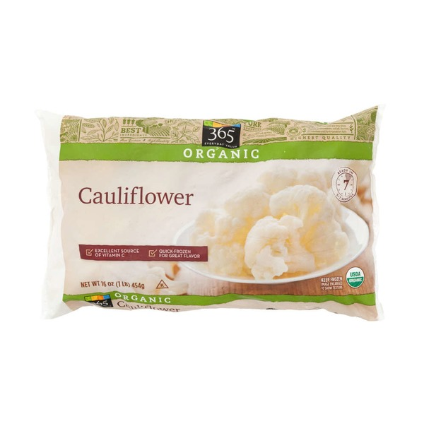 365 Frozen Organic Cauliflower