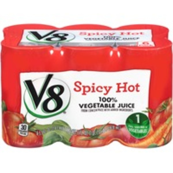 V8 Spicy Hot 100% Vegetable Juice