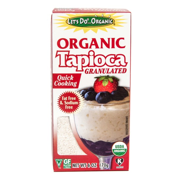 Lets Do Organics Granulated Organic Tapioca