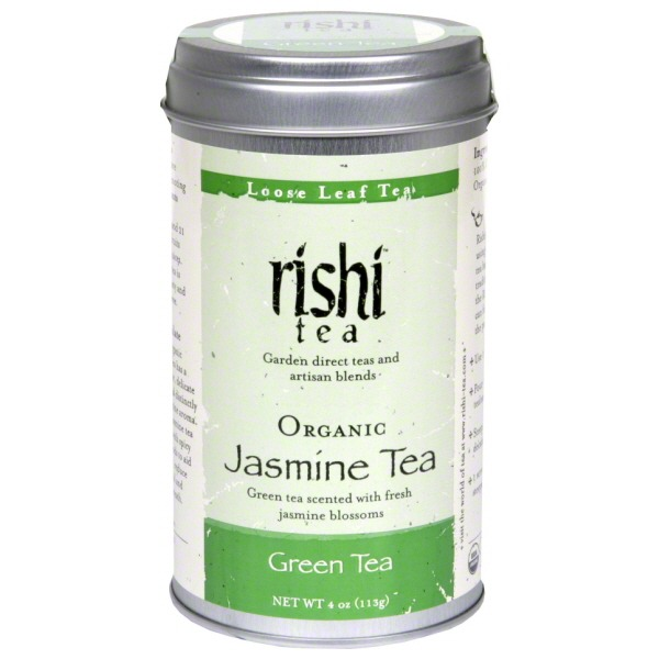 Rishi Tea Organic Jasmine Loose Leaf Green Tea