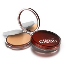 CoverGirl Clean Pressed Powder Foundation Creamy Beige, .39 Oz