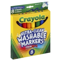 Crayola Markers Broad Line Classic Colors Washable