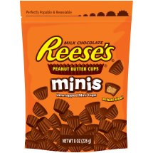 REESE'S Peanut Butter Cup Minis Pouch, 8 oz. 4 Count