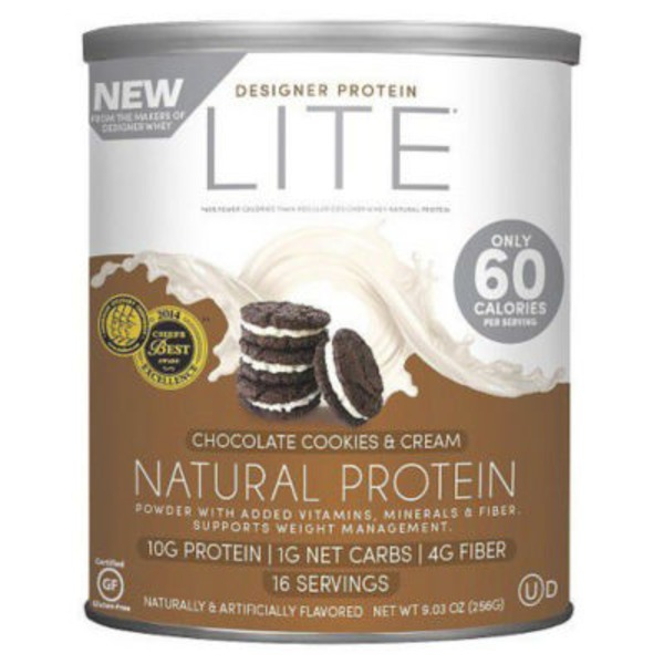 Designer Protein Protein Powder, Natural, Chocolate Cookies & Cream