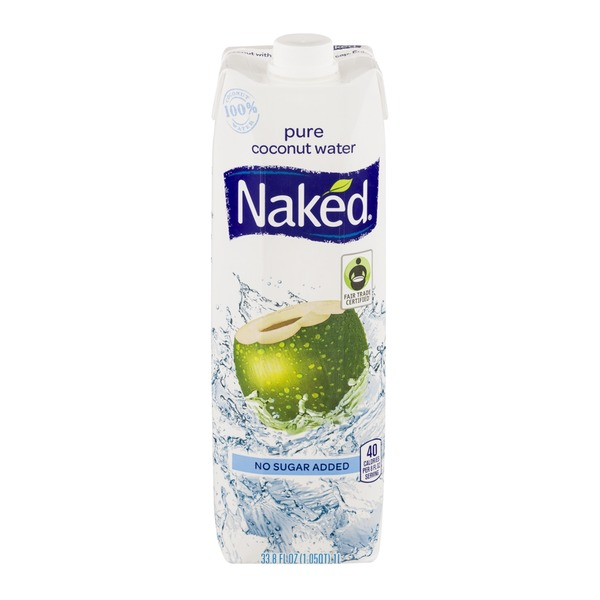 Naked Pure Coconut Water No Sugar Added