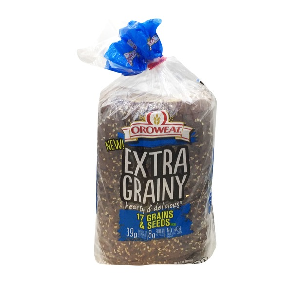 Brownberry/Arnold/Oroweat 17 Grains & Seeds Bread
