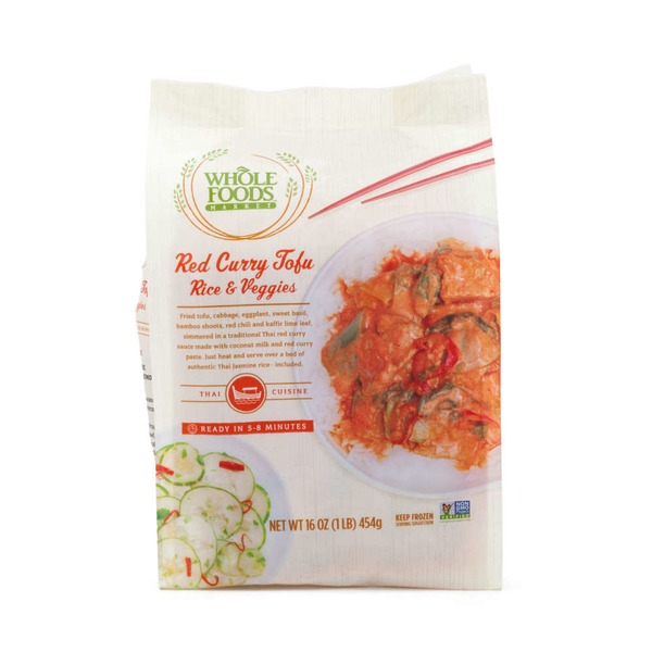 Whole Foods Market Red Curry Tofu Rice And Vegetable