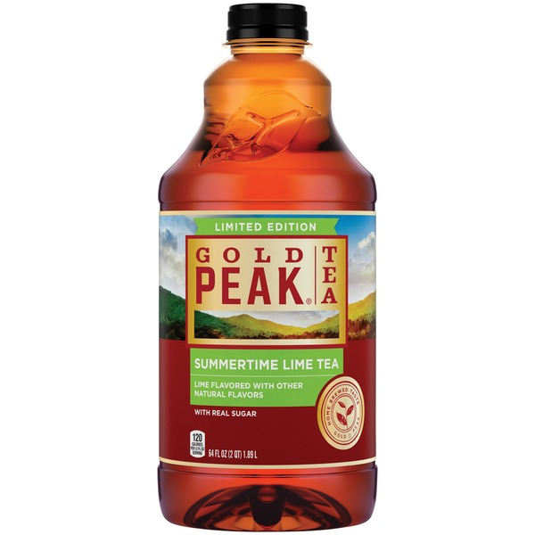 Gold Peak Limited Edition Summertime Lime Iced Tea