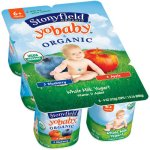 Stonyfield Organic YoBaby Blueberry/Apple Yogurt, 4 oz, 6 ct