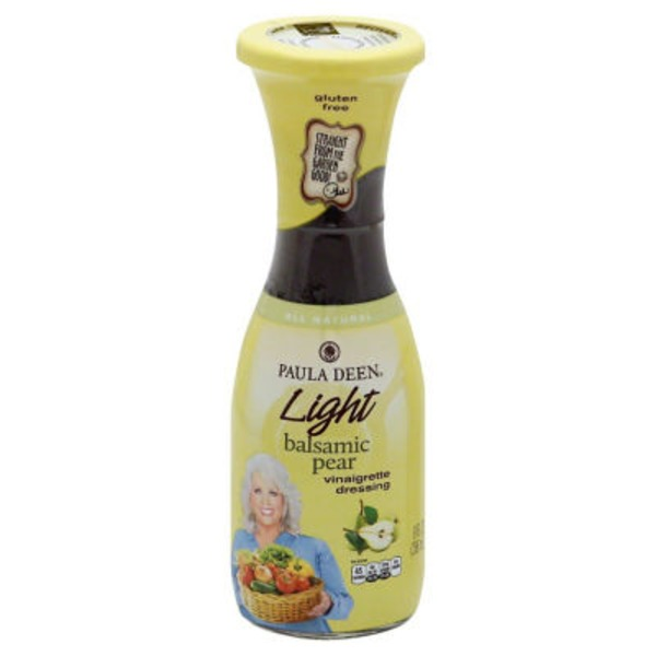 Paula Deen Light Balsamic Pear Vinaigrette Dressing