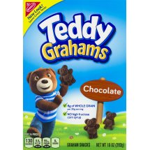 Teddy Grahams Snacks Chocolate, 10.0 OZ