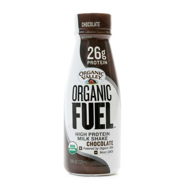 Organic Valley Organic Fuel Chocolate High Protein Milk Shake