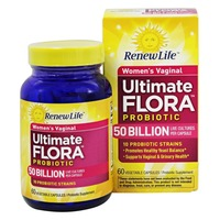 Renew Life Ultimate Flora Vaginal Support Probiotic 50 Billion