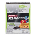 Lunchables Uploaded 6-Inch Ham & American Sub Sandwich, 5.0 OZ