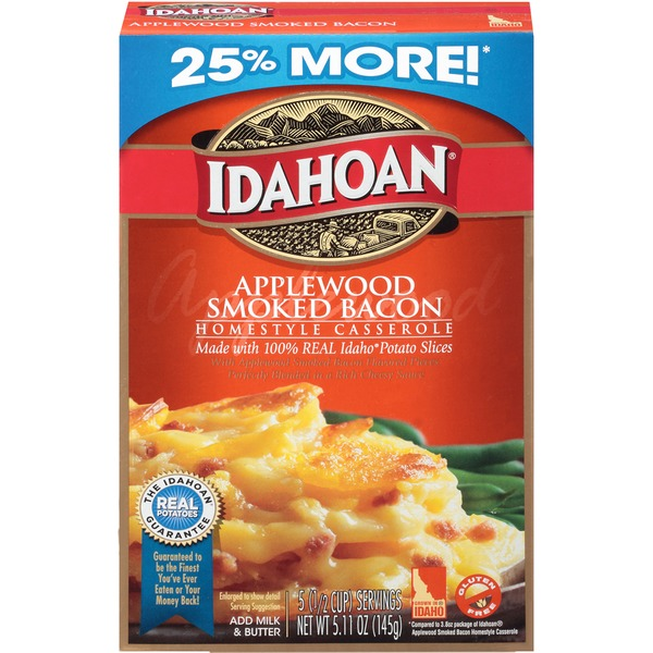 Idahoan Applewood Smoked Bacon Homestyle Casserole