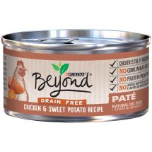 Purina Beyond Grain Free Chicken & Sweet Potato Recipe Pate Cat Food 3 oz. Can