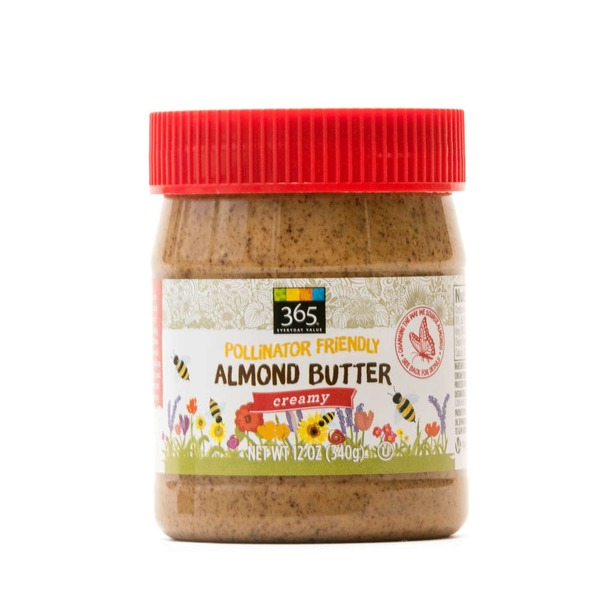 365 Almond Butter Pollinator Friendly Creamy