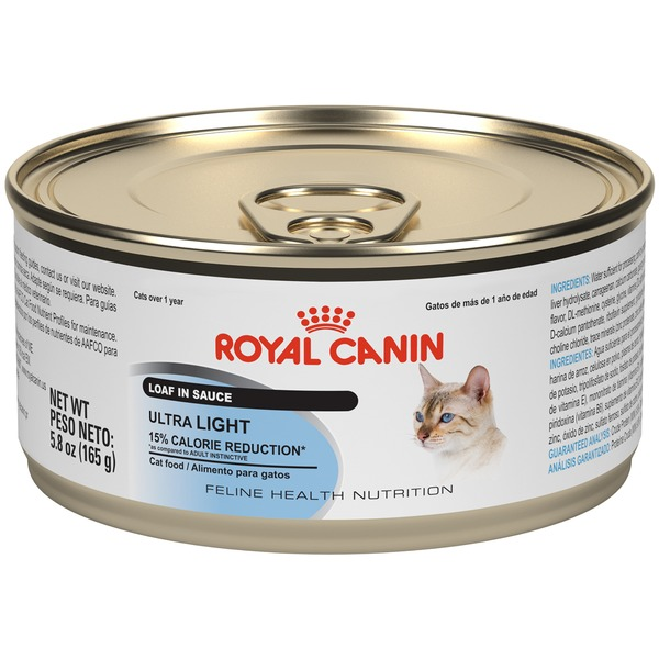 Royal Canin Feline Health Nutrition Ultra Light Loaf in Sauce Wet Cat Food