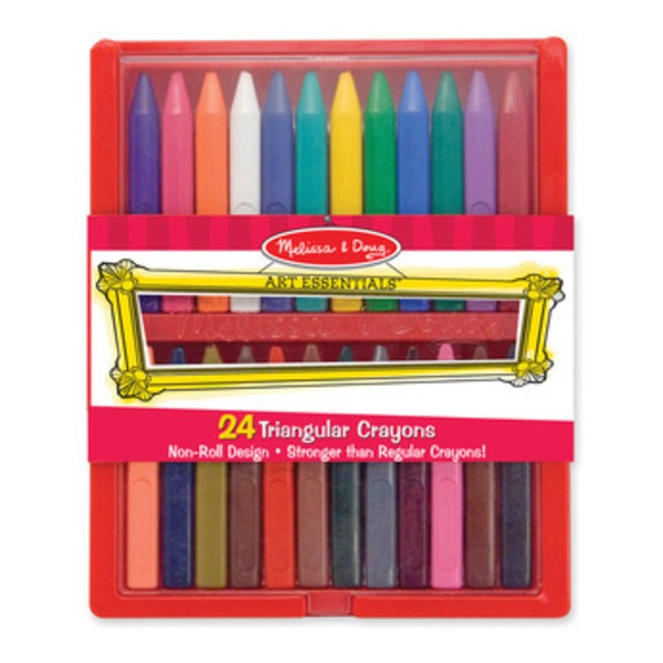 Melissa & Doug Crayon Set Triangular