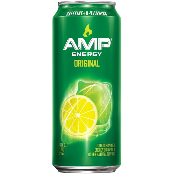Amp Energy Boost Original Energy Drink
