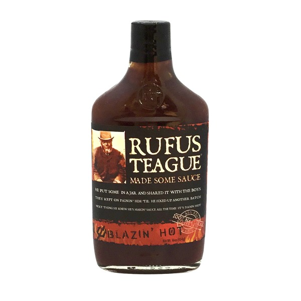 Rufus Teague Sauce, Blazin' Hot