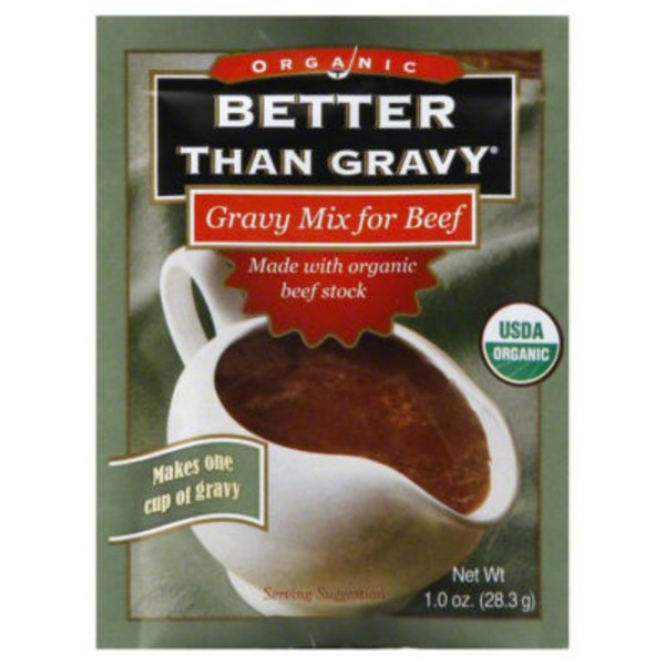 Better Than Gravy Organic Brown Gravy Mix