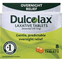 Dulcolax Laxative Tablets, 8 Ct