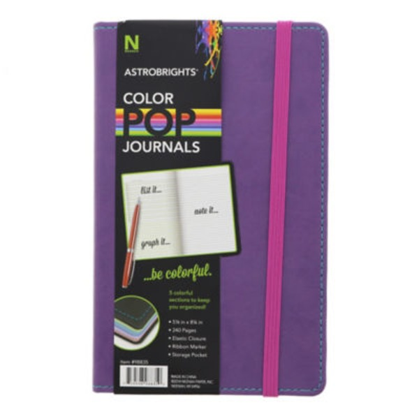 Astrobrights Purple Color Pop Journal