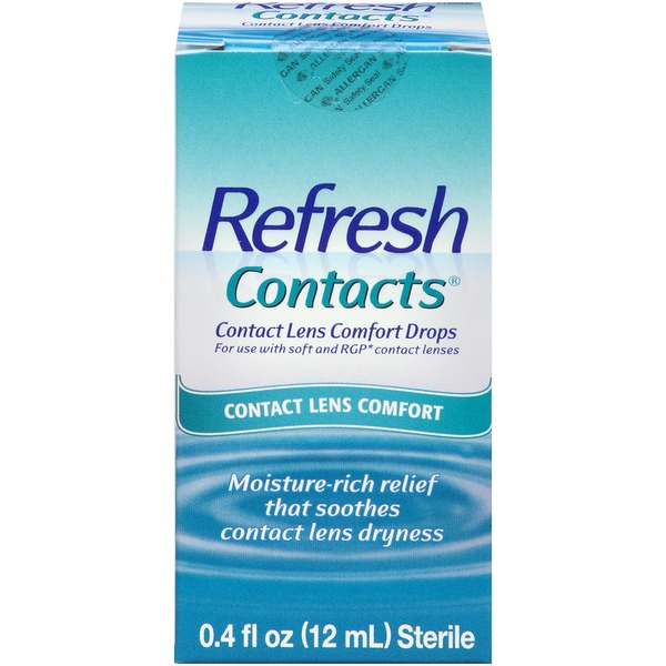 Refresh Contacts Contact Lens Comfort Eye Drops