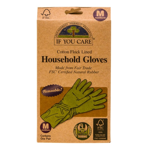 If You Care Medium Household Gloves