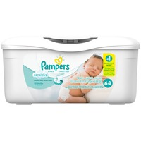 Pampers Sensitive Pampers Baby Wipes Sensitive Tub 64 count Baby Wipes