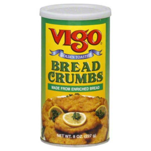 Vigo Plain Golden Toasted Bread Crumbs