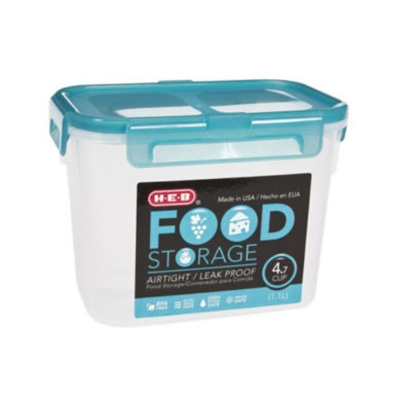 H-E-B Food Storage AirTight/Leak Proof