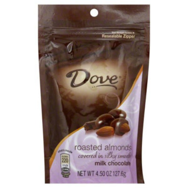 Dove Roasted Almonds Covered in Silky Smooth Milk Chocolate