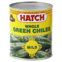 Hatch Whole Green Chiles Mild